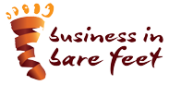 business in bare feet logo
