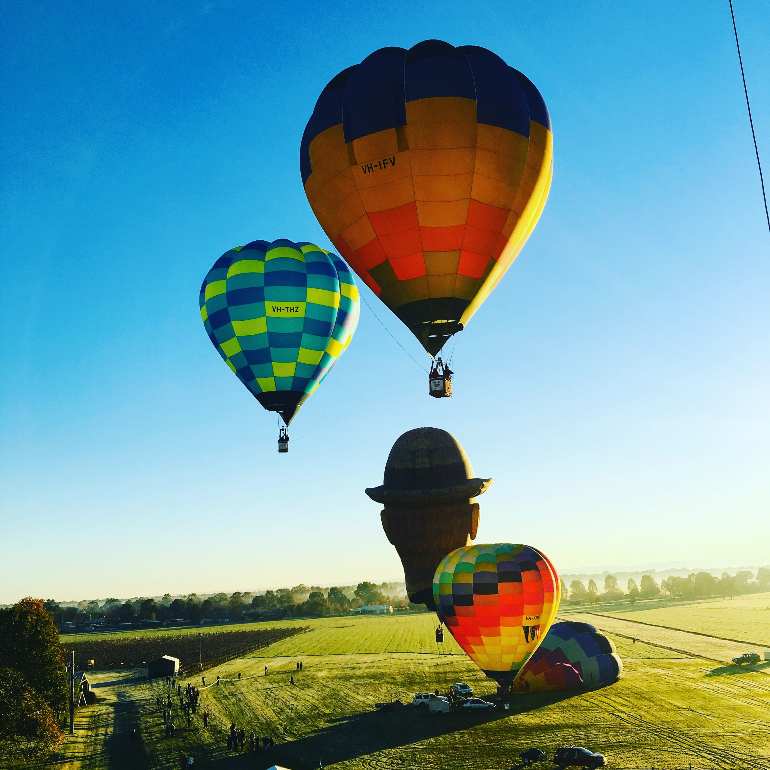 Ballooning in the King Valley